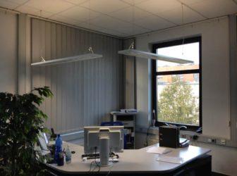 Auch den Arbeitsplatz im Büro beleuchten wir gerne direkt und indirekt. Auch hier sind wir der kompetente Ansprechpartner.